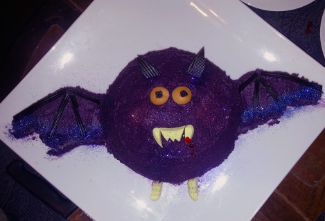 Celebrate with me - here, have some bat cake.....
